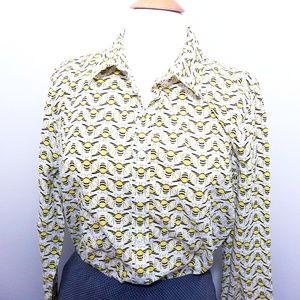 Crown & Ivy bee shirt